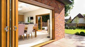 Kloeber's Kustomfold Oak Bifold Doors in Good Homes Magazine