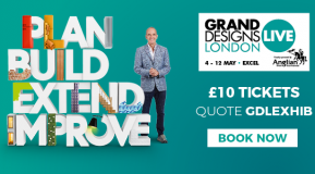 Meet us at Grand Designs Live!