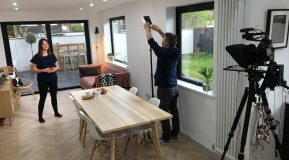 Filming our new video with Homebuilding & Renovating!
