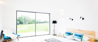 ÜberSlide our super–slim sliding door