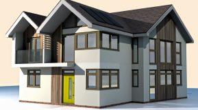 Build It's Self Build Education House