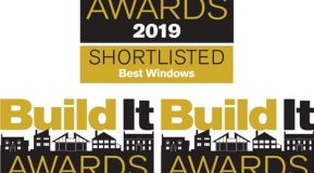 We've been shortlisted for 3 Build It Awards!
