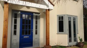 A guide to front door colour options!