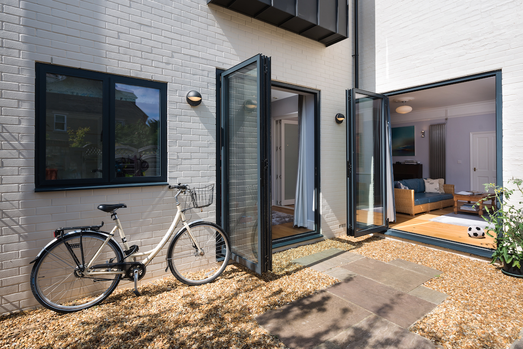 how to clean and maintain bifold doors