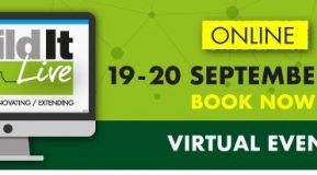 Build It Live Virtual Show 19-20 September 2020!