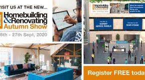 The Autumn Homebuilding & Renovating Virtual Show on 26-27 September 2020!