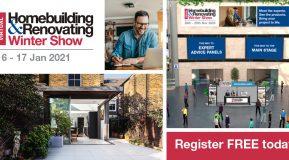 The Virtual Homebuilding & Renovating Winter Show 16-17 January 2020!