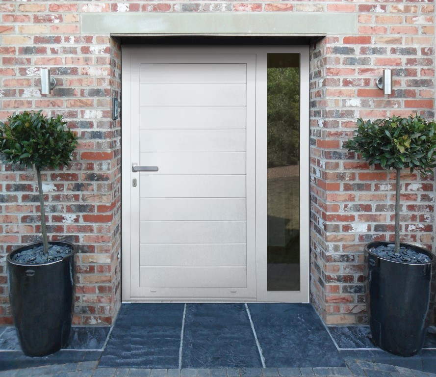 guide to front doors aluminium