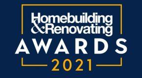 We have been shortlisted for 2 Homebuilding & Renovating Industry Awards!