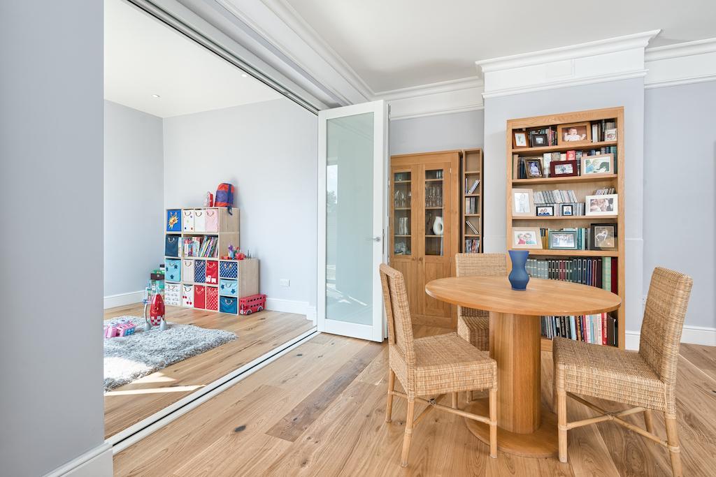 internal bifold doors for open plan living