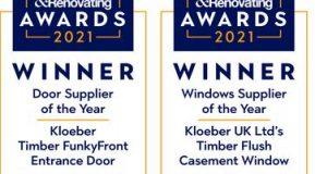 We've Won Best Door Supplier & Best Window Supplier Again!