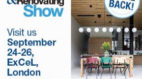 London Homebuilding & Renovating Show 24-26 September 2021!