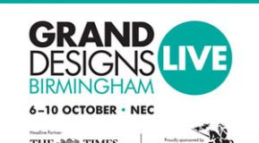 We are at Grand Designs Live NEC 6-10 October 2021!