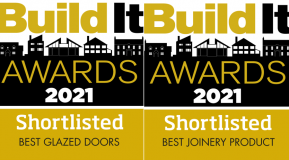 We have been shortlisted for two Build It Awards!
